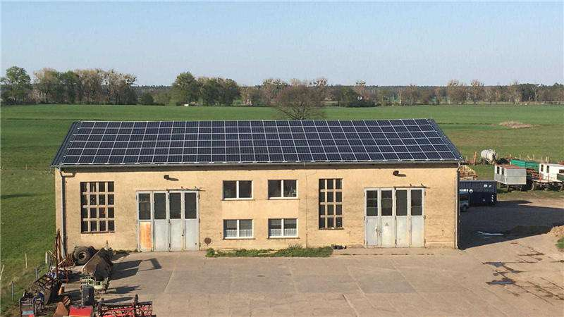 50KW Solar Project in Germany